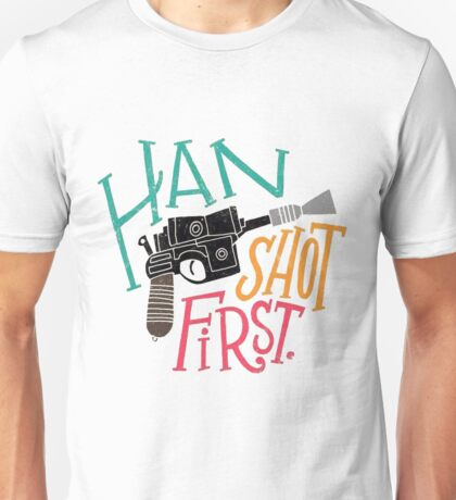 Star Wars - Han Shot First Unisex T-Shirt