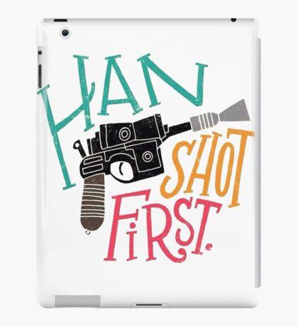 Star Wars - Han Shot First iPad Case/Skin