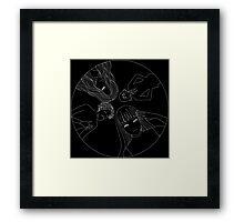 Black Paradox Framed Print
