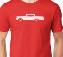 Lowered car for 1958 Edsel Ranger 2-door hardtop enthusiasts Unisex T-Shirt