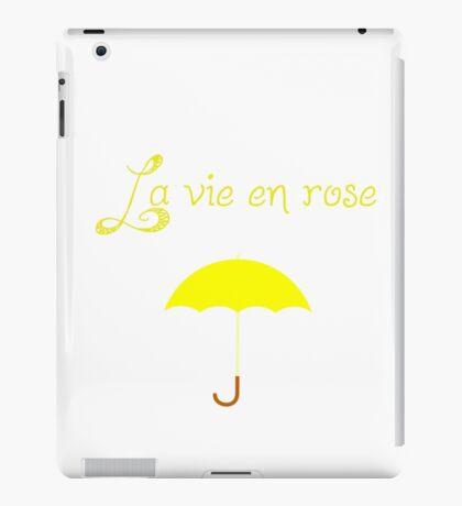 La vie iPad Case/Skin