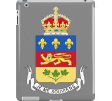 Quebec Coat of Arms iPad Case/Skin