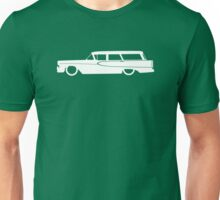 Lowered car for 1958 Edsel Villager station wagon enthusiasts Unisex T-Shirt
