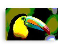 Toucan Tropical Summer bird Canvas Print
