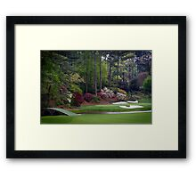 Golf Amen Corner Augusta Georgia Cases, Prints, Posters, Totes, Home Decor Gifts Framed Print