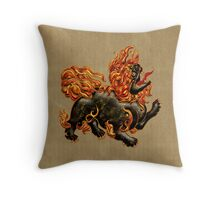 Chinese Dragon Dog, tote, pillow,  case  Throw Pillow