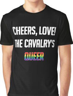 Cheers, Love!  Graphic T-Shirt