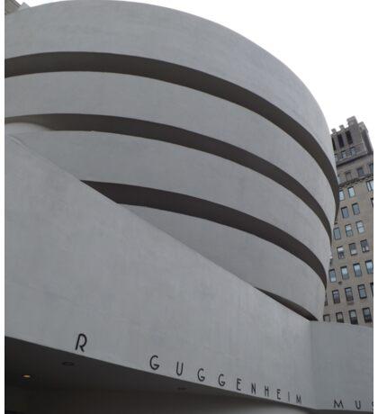 Guggenheim Museum, Frank Lloyd Wright Architect, New York City Sticker