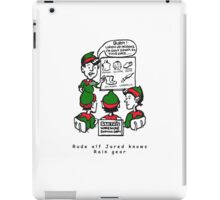 Rude ELF Jarred iPad Case/Skin