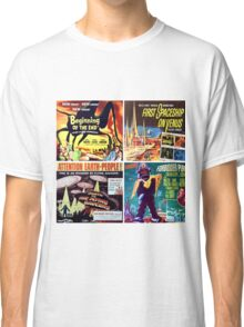 Sci-Fi Movie Poster Art Collection #3 Classic T-Shirt