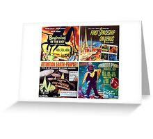 Sci-Fi Movie Poster Art Collection #3 Greeting Card