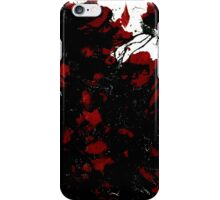 Abstract Art Painting Mess Red Black White iPhone Case/Skin