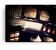 My Knight Rider Dashboard 02 Canvas Print