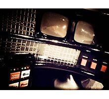 My Knight Rider Dashboard 02 Photographic Print