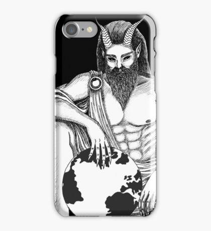 Father God - BLACK iPhone Case/Skin