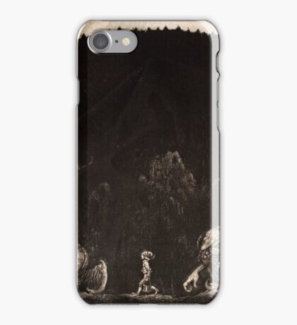 JOHN BAUER, BOY AND TWO TROLLS iPhone Case/Skin
