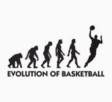 Evolution of Basketball by artpolitic