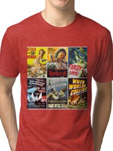 Sci-Fi Movie Poster Art Collection #1 Tri-blend T-Shirt