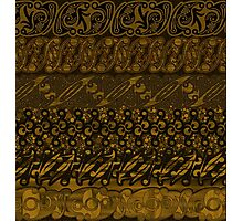 Batik Ornament from Yogyakarta Photographic Print