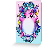 Wigglytuff Greeting Card