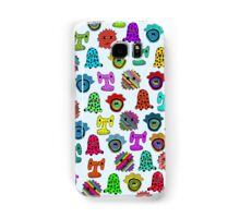 pattern with monsters Samsung Galaxy Case/Skin