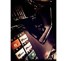 Retro Styled Photos Of My Knight Rider Dash 07 Photographic Print