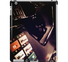 Retro Styled Photos Of My Knight Rider Dash 07 iPad Case/Skin