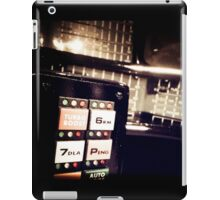 Retro Styled Photos Of My Knight Rider Dash 09 iPad Case/Skin