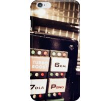 Retro Styled Photos Of My Knight Rider Dash 09 iPhone Case/Skin