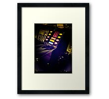 Retro Style Photos Of My Knight Rider Dash 10 Framed Print