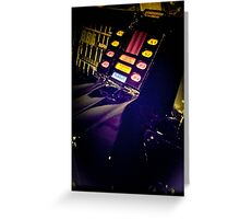 Retro Style Photos Of My Knight Rider Dash 10 Greeting Card