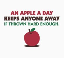 An Apple A Day by artpolitic