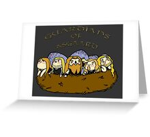 Chibi Amon Amarth: Guardians of Asgaard Greeting Card