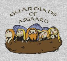 Chibi Amon Amarth: Guardians of Asgaard Kids Tee