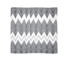 Snow Caped Grey Trees Scarf
