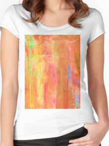 A dream in gold Women's Fitted Scoop T-Shirt