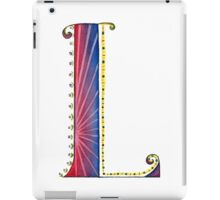 The Letter L iPad Case/Skin