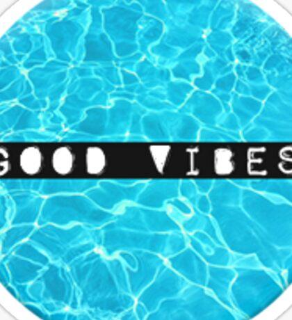 Beachy Good Vibes Sticker