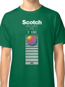 """Re-record, not fade away"" - Scotch VHS Classic T-Shirt"