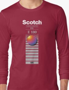 """Re-record, not fade away"" - Scotch VHS Long Sleeve T-Shirt"