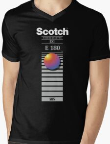 """Re-record, not fade away"" - Scotch VHS Mens V-Neck T-Shirt"