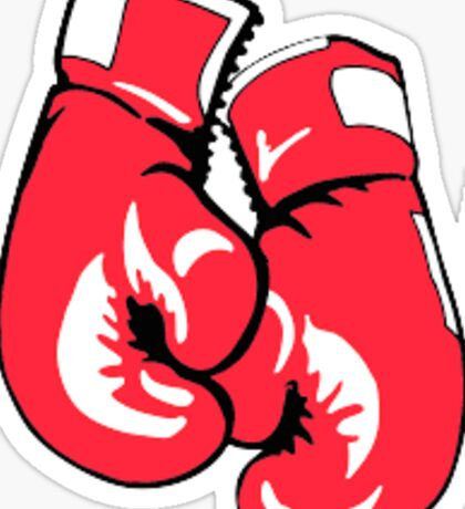 Kickboxing gloves Sticker