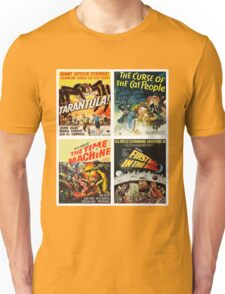 Sci-fi Movie Poster Art Collection #8 Unisex T-Shirt