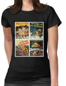 Sci-fi Movie Poster Art Collection #8 Womens Fitted T-Shirt
