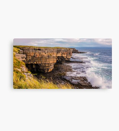Sea Caves at Muckross - County Donegal, Ireland Canvas Print