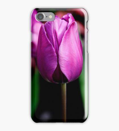Purple Passion ~ Tulip iPhone Case/Skin
