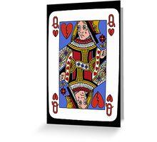 Queen of broken hearts Greeting Card
