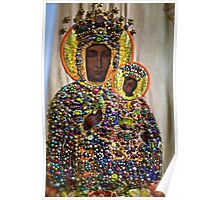 The Black Madonna of Czestochowa. Queen of Poland. Views: 8650..Has been SOLD ! Promotor Fidei. Poster