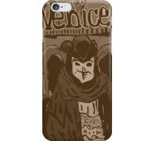 Venetian mask vintage iPhone Case/Skin