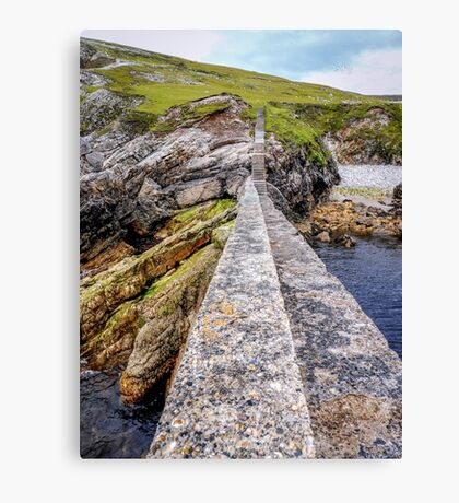 An Port Stairs - County Donegal, Ireland Canvas Print